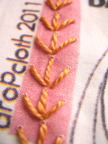 F Is for Fern Stitch