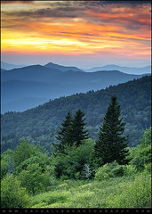 Blue Ridge Parkway WNC - Fire in the Mountains (Dave Allen Photography) Tags: sunset sky mountains sunrise asheville scenic cherokee appalachia blueridgemountains blueridgeparkway appalachians wunset southernappalachians mygearandme mygearandmepremium mygearandmebronze mygearandmesilver mygearandmegold mygearandmeplatinum mygearandmediamond