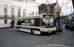 nyks - reliance sutton-on-the-forest v293uvy york 02 JL (johnmightycat1) Tags: bus yorkshire
