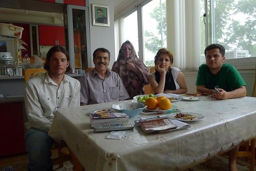 Masoume and family