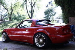 1990 Mazda Miata Garage Vary Tail Light Panel (Ryan.C.Davis) Tags: red wheel truck canon project gold drive 1 zoom charlotte mark g garage group version mirrors northcarolina 15 rubber gas safety turbo ii buy trunk precision 5d clutch mm piece build mazda ok goodrich ltd miata bbs bf act 1990 rivals taillights lid s800 rm vary 2014 16l marsred pte 35mmf14 projectg clubroadster rev9 1990mazdamiata revlimiter 15x9 deatschwerks canon5dmarkii 2254515 stancecoilovers autokonexion miataroadster whiterollbar fusers rlip topmiata subaruspeccroofvent miatagram autokonextion