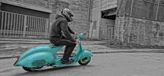 Lorient, Brittany, France (drburtoni) Tags: brittany vespa bretagne scooter lorient francee