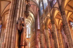 Hearts Above (Waterfall Guy) Tags: cathedral cologne koln gothic germany