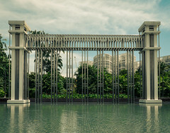 Festival Arch at the Istana Park (pattuz) Tags: sg singapore arch istana park festival architecture