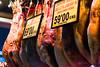 Barcelona (Roger Hanuk) Tags: barcelona ham hanging market meat mercatdelaboqueria spain catalonia