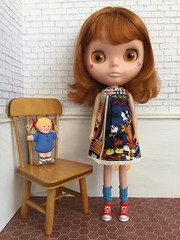"""It's All Disney"" Blythe Smock Dress Collection (TuSabesBlythe) Tags: itsalldisney blythe smock dress collection conrad doll bl kozy kozykape sewing dresses"
