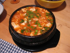 IMG_1426 (SaxWorks) Tags: koreanfood koreancuisine koreancooking 순두부찌개 soondubuchigae tofustew spicytofustew soondubujjigae maangchi koreanrecipes stewrecipe koreanspicysofttofustew markhubenthal