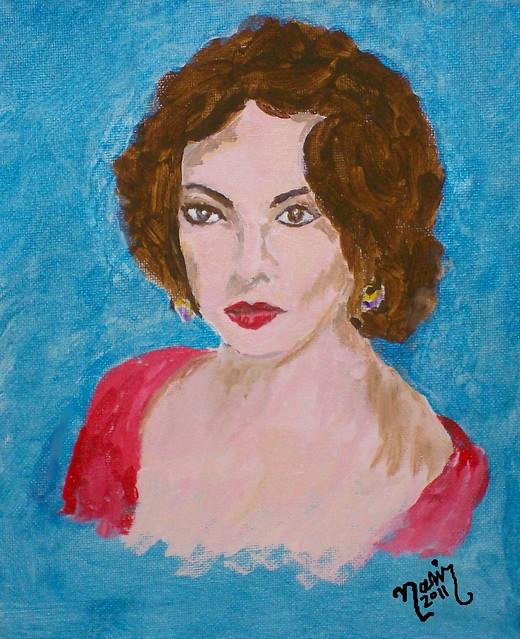 Elizabeth Taylor by CrystalRobot