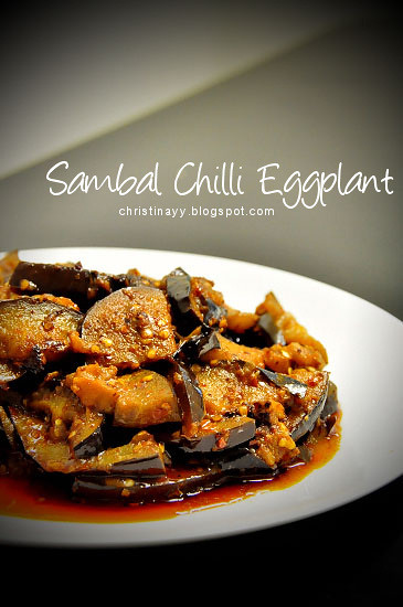 Home Cook: Sambal Chilli Eggplant
