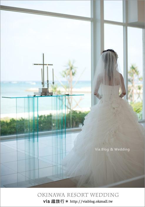 【沖繩旅遊】浪漫至極!Via的沖繩婚紗拍攝體驗全記錄!17