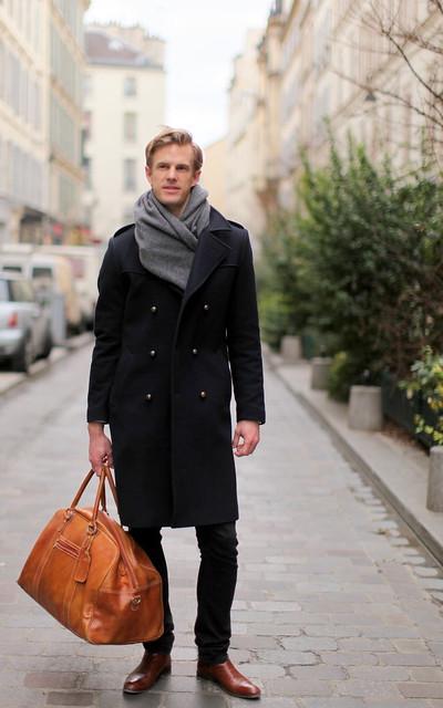 Um dia em Paris, um sueco e um alemão com estilo