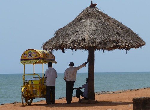 pondy seafront