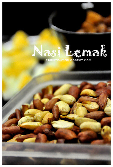 Home-Cook Nasi Lemak: Fried Groundnuts