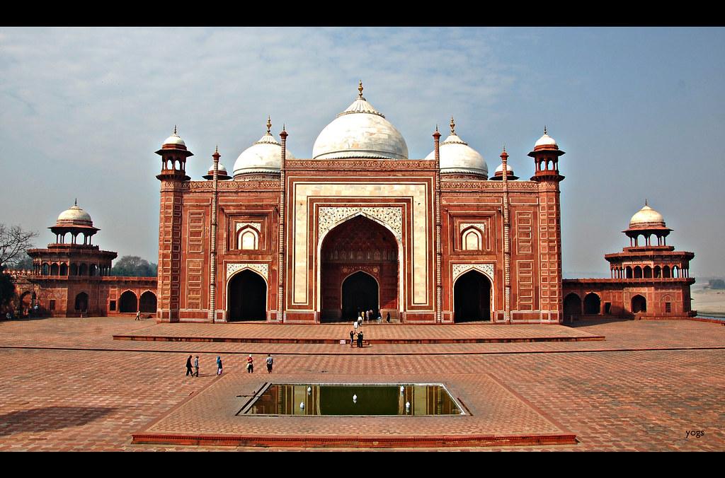 Taj Mahal Mosque..