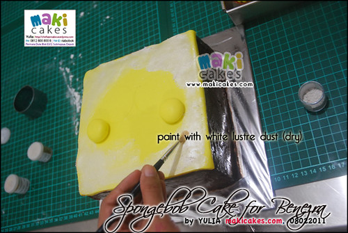 Spongebob Cake for Benezra _how2- Maki Cakes
