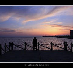 Mavisehir Sunset # 01 (COSKUNTUNA ... 950.000 ... THANK YOU) Tags: sunset sea sun canon view izmir ksk manzara  2011  colouds bostanli karsyaka canon450d saariysqualitypictures coskuntuna doublyniceshot mygearandme mygearandmepremium