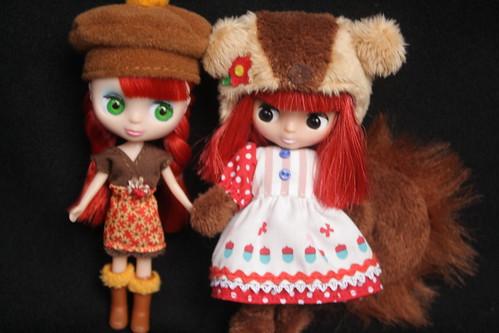 LPS Blythe and Takara Petite Blythe