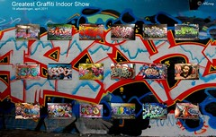 Greatest Indoor Graffiti Show ,Collage,Groningen stad,the Netherlands,Europe (Aheroy) Tags: city holland art netherlands dutch collage fun graffiti town europe colours different arts nederland surreal hallucination groningen stad beautifull tonemapped singlerawhdr aheroy aheroyal beautifulgroningen greatestgraffitiindoorshow