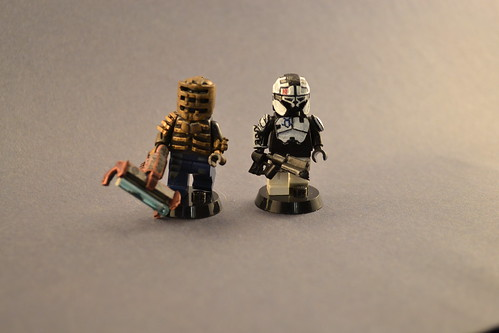 Custom minifig Dead Space Figs
