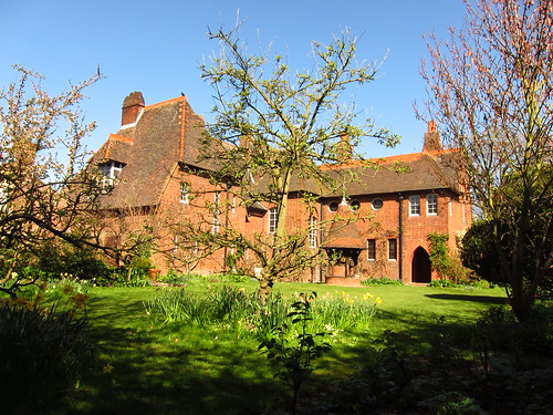 Red House seen from the Garden