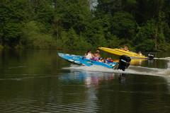 Racing Boats on the Savannah River