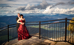 Aussie Wedding #1 (Kieran Campbell) Tags: b wedding landscape bright mark australia jo victoria lookout valley chalet vic mountbuffalo ovens mtbuffalo porepunkah