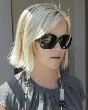 Reese Witherspoon Chanel 5124 fashion sunglasses