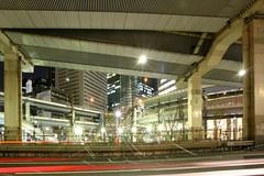 Tanimachi Junction - 12 (Kabacchi) Tags: night tokyo highway  nightview expressway  interchange      jct tanimachijunction ~tanimachijunction~