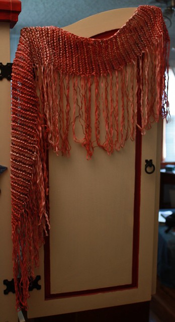 Side Fringe Scarf 1