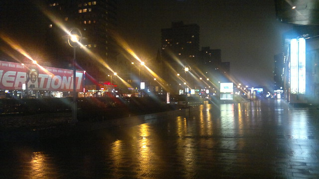 Rainy nights in Moscow