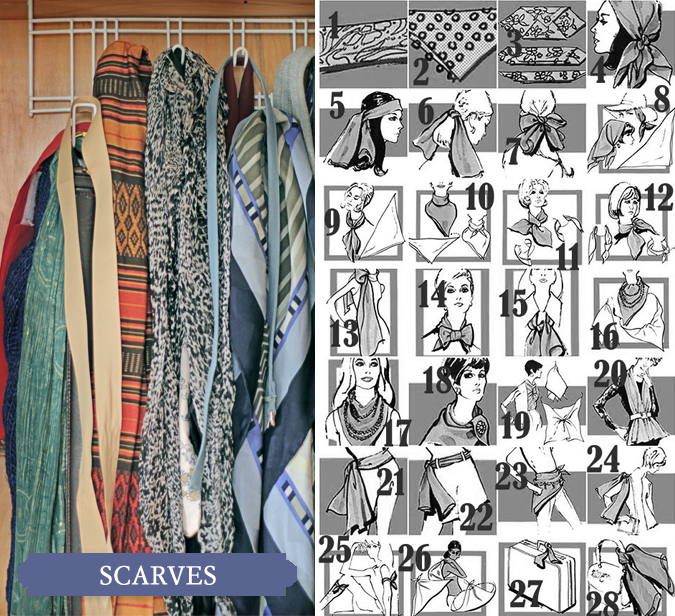 Classic Series on Jenna Sauers of Jezebel on her collection of vintage Scarves