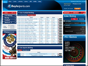 Boyle Sports Sport Bonus