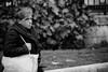 Scream of Silence/فریاد سکوت (Mohammadali) Tags: life street old city uk trip winter vacation people blackandwhite bw woman london female canon photography women europe streetphotography silence scream gb older 5d 2010 عکس اروپا 1389 سکوت فریاد عکساجتماعی