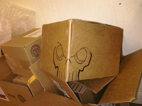 Cardboard Skull 1.11502 by Zook74