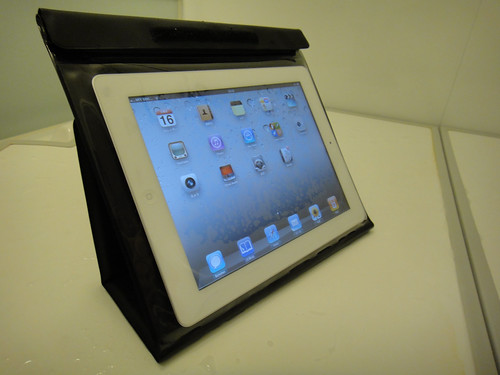 iPad2 with Waterproof case