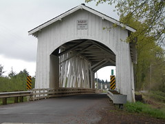 Gilkey covered bridge