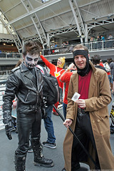 Kapow! Comic Con : Cosplay - Eric Draven The Crow & Gambit by Craig Grobler