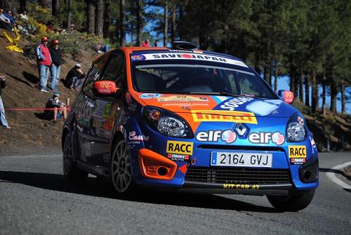 Aragones Rally Islas Canarias