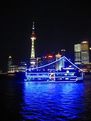 Neon riverboat