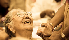 The golden years (renand.lai) Tags: grandma friends friendship happiness oldwoman holdinghands oldage retiree seniorcitizens goldenyears ahmah canoneos30d ef70200mmf28lisusm adobephotoshoplightroom30