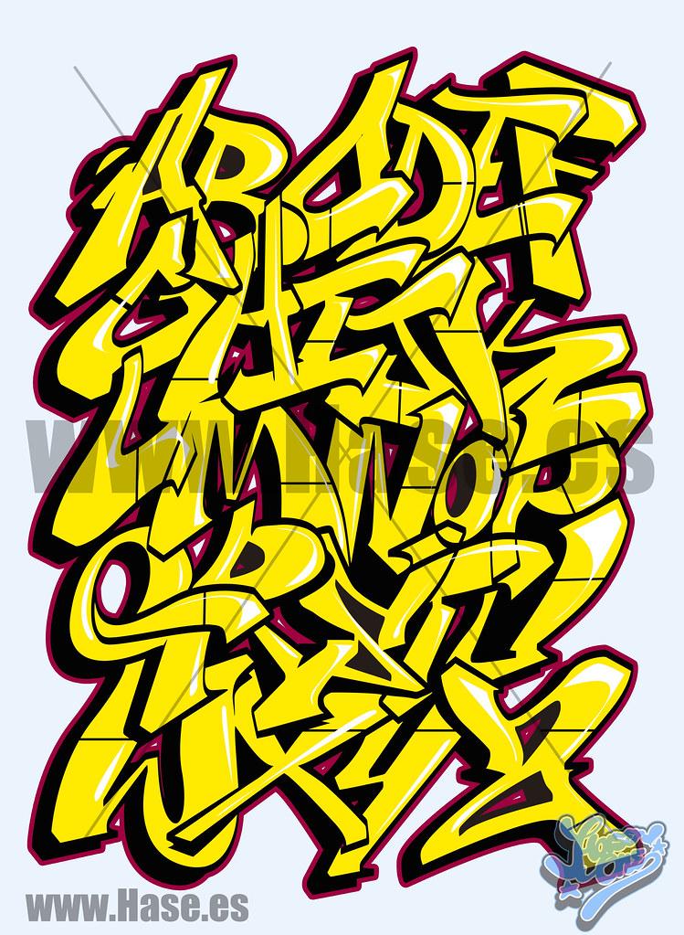 abecedarios de graffitis