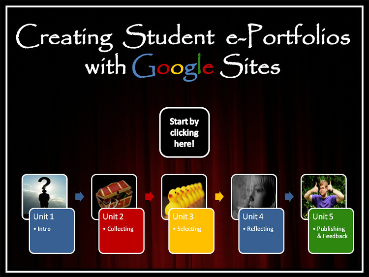 Creating Student e-Portfolios with Google Sites