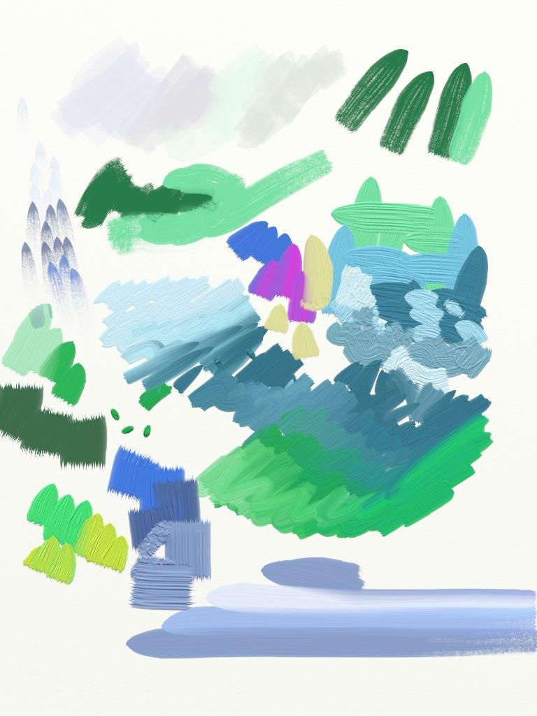 ArtRage per iPad: Olii