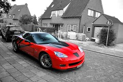 Z06. (Jurriaan Vogel) Tags: auto red bw usa white black holland colour cars chevrolet sc sports netherlands car sport speed america photography for nikon automobile gm general very indianapolis united fast 7 wrap automotive super motors exotic american need l pace states 500 carbon daytona corvette 70 luxury coupe exclusive supercar middelburg colouring v8 vette coupé vogel c5 sportscar c6 2010 selective nfs z06 18105 zr1 d60 jurriaan 2011 striping worldcars 70l 505bhp 18105vr