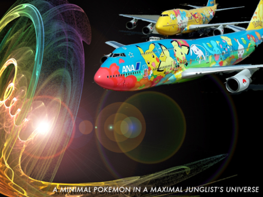 A Minimal Pokemon in a Maxmial Junglist's Universe