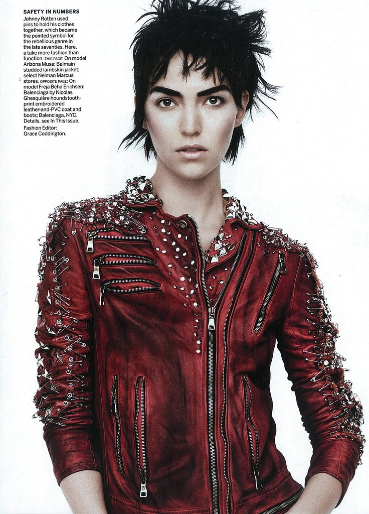 US Vogue March 2011 PUNK'D by David Sims 5