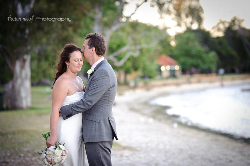 Julia & Sean's Wedding - Romance at the foreshore