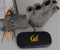 JacobMittsWIPFriday (1) (Crafty Andy) Tags: cable homespun mitts baltar