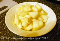 Chopped Pears