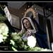 Trono de Jesús y María en casa de Lázaro